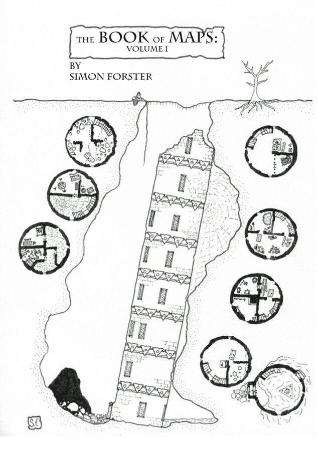 Resultado de imagen de plano torre mago dungeons