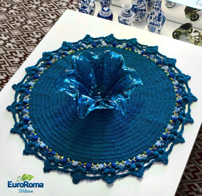 Toalha de Crochê Pipoca por Marcelo Nunes • Receita e Gráfico