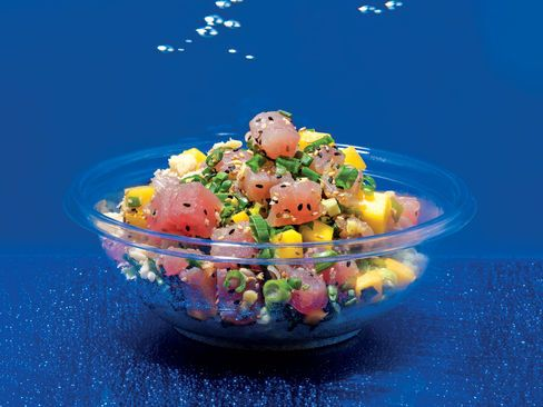 Poke, Hawaii's Sushi in a Bowl, Hits the Mainland - Bloomberg