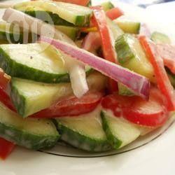 Frisse komkommersalade @ allrecipes.nl