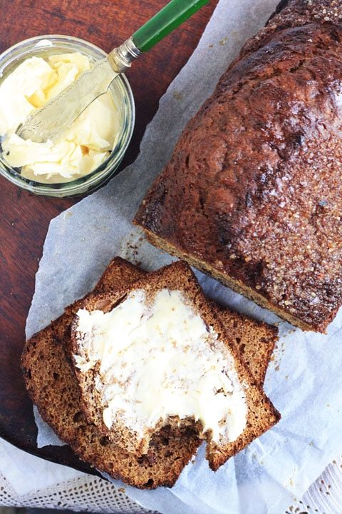 Date and Banana Malt Loaf