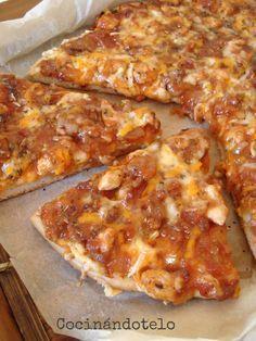 Una de las pizzas que mas me gusta es la pizza barbacoa. La he preparado muchas veces en casa y también la he pedido en pizzerias pero nunca...