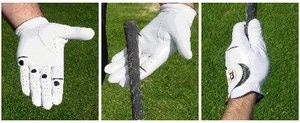 Here is a step-by-step guide to the correct way for golfers to take their grip of the club, starting with the lead (or top) hand.: The Lead Hand (Top Hand) Grip