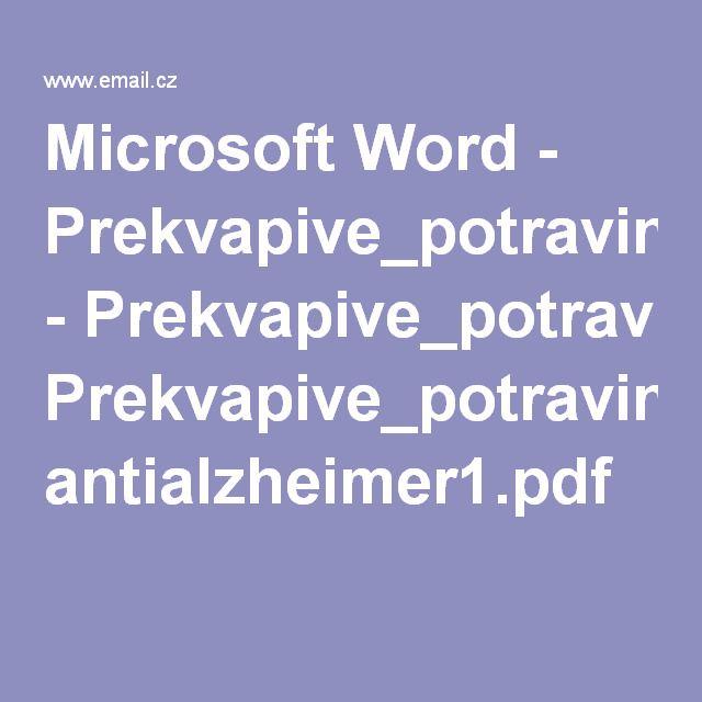 Microsoft Word - Prekvapive_potraviny_i_.doc - Prekvapive_potraviny antialzheimer1.pdf