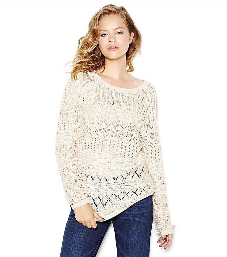 Open Stitch Sweater.