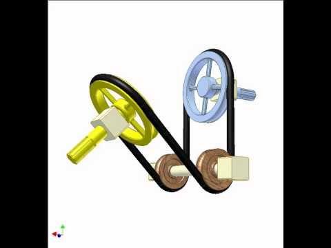 Belt drive 4c - YouTube