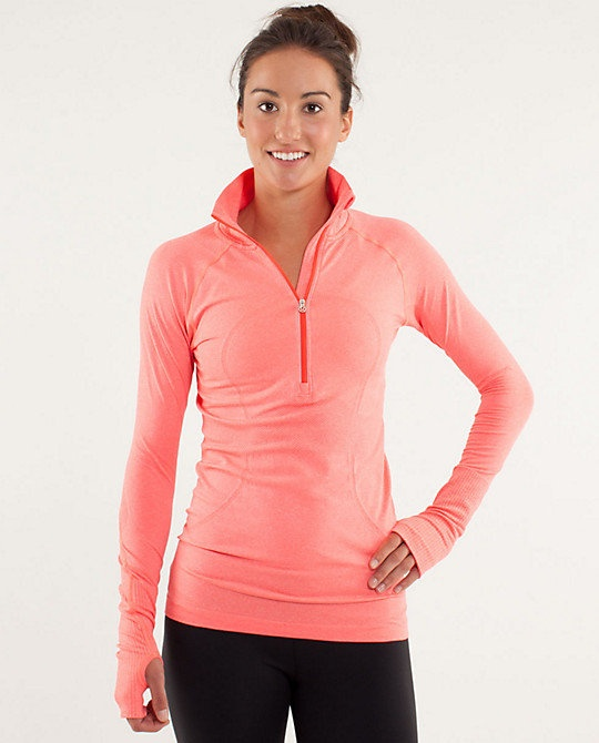 lululemon athletica cool weather workout clothes - I have this one in grey. SOOO Comfy!!