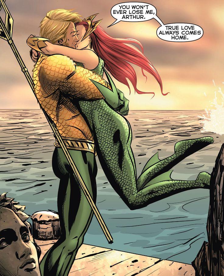 Arthur Curry/Aquaman  Mera - YOUNG ROMANCE