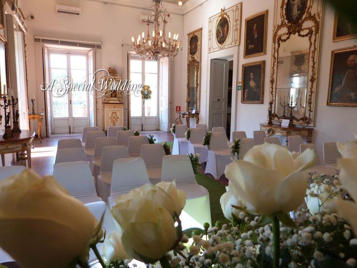 Wedding at Sorrento  Sala degli specchi  Sorrento
