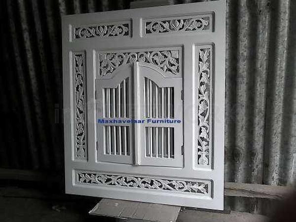 Cermin Putih Ukir jepara (cermin Jendela) • Max Havelaar Furniture • Indonetwork.co.id