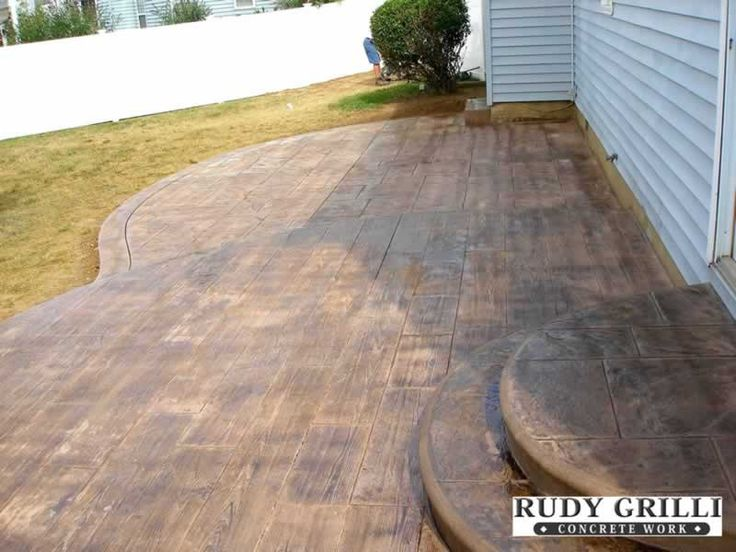 Concrete Patio Work : Images about stampen concrete on pinterest painted