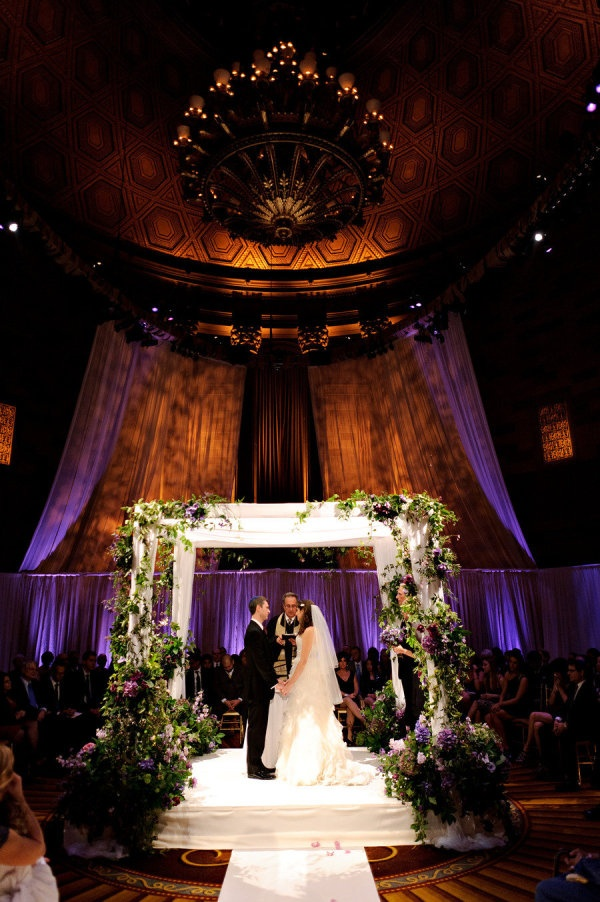 319 best chuppahs images on pinterest jewish weddings wedding nyc wedding at gotham hall by fleurs nyc junglespirit Gallery
