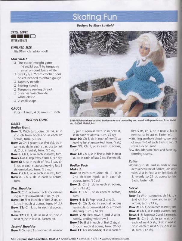 551 best Barbie - Clothes images on Pinterest | Barbie, Barbie doll ...