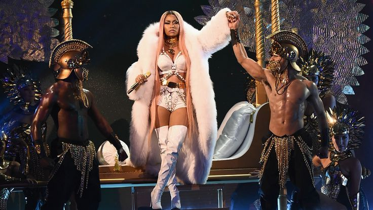 """Watch Nicki Minaj and 2 Chainz Perform at Inaugural NBA Awards  The dynamic duo performed a rendition of """"Realize"""" """"No Frauds"""" and her verse from Katy Perrys """"Swish Swish.""""  read more"""