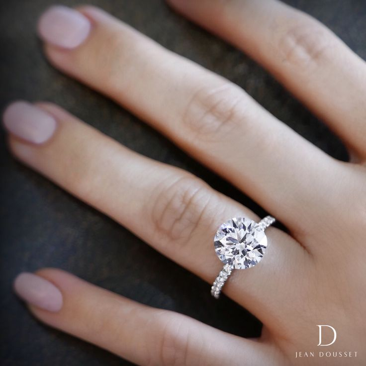 87 best Solitaire Engagement Rings images on Pinterest Wedding
