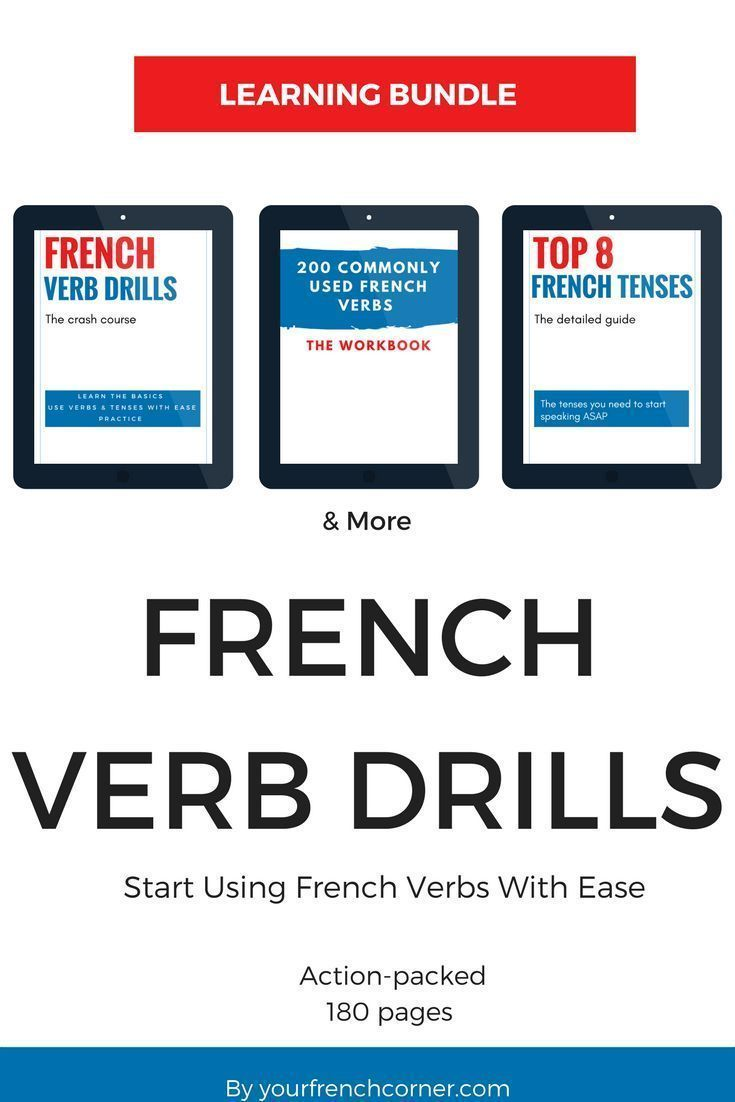 most used french verbs pdf