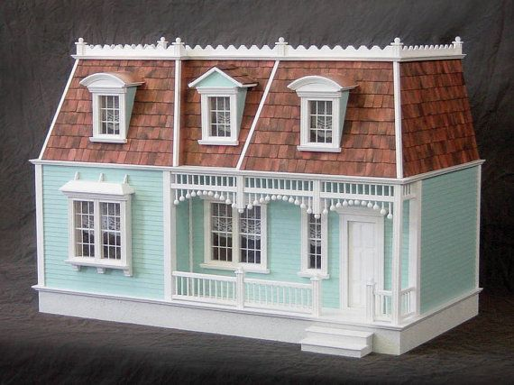 The French Quarter, Wooden Dollhouse Kit, Scale One Inch
