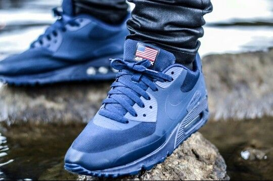 huge selection of 7bab3 f9376 Nike Air Max 90 Hyperfuse Independence Day Blanche
