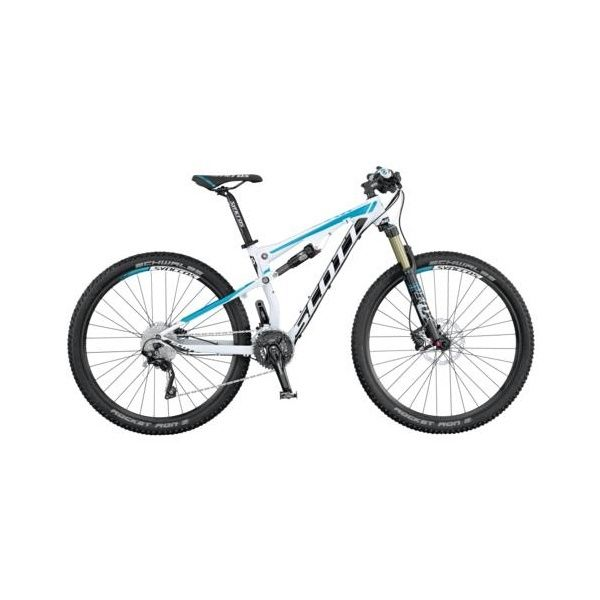 Scott Contessa Spark 700 Ladies Full Suspension Mountain Bike (2015). Newest toy, oh boy!