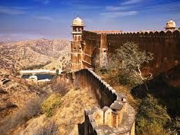 Nahargarh Fort stands on the edge of the Aravalli Hills, overlooking the city of Jaipur.Along with other forts, Nahargarh once formed a strong defense ring for the city. The fort was originally named Sudarshangarh, but it became known as Nahargarh, which means 'abode of tigers'. The popular belief is that Nahar here stands for Nahar Singh Bhomia,whose spirit haunted the place and obstructed construction of the fort.