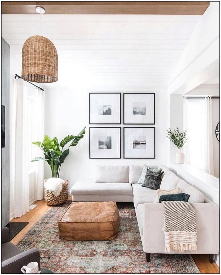 20 Gallery Wall Ideas To Create A Focal Point In Any Room Homelovr Living Room Scandinavian Living Room Modern Living Room Designs
