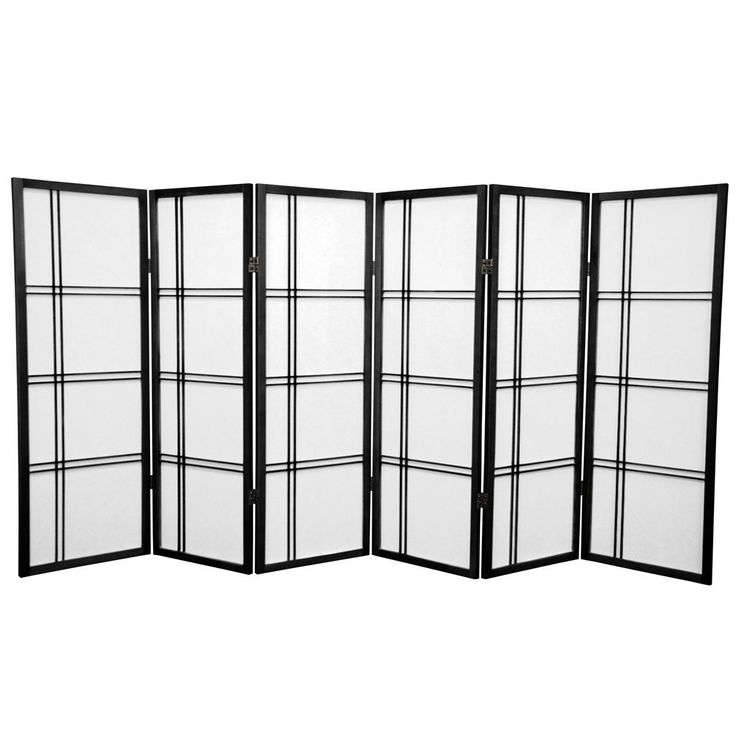 A Zen-influenced design is featured on this room divider panel. This handmade spruce room divider is ideal for use anywhere a shorter screen is preferred such as an unsightly area, fireplace screen or kid's play area.