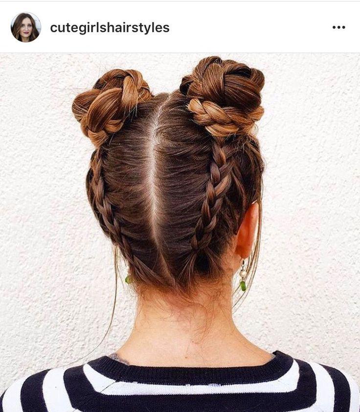 Instagram; @cutegirlshairstyles