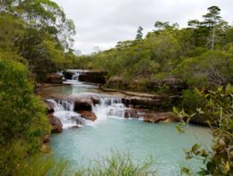 Twin Falls. Photo: Adam Creed, Queensland Government.