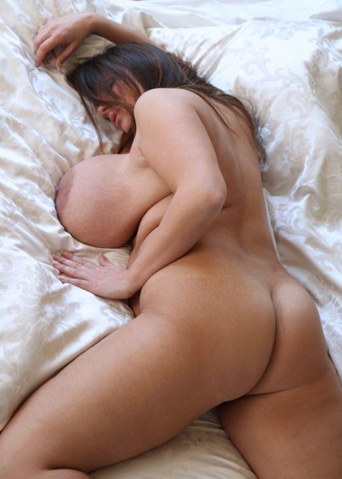 mature curvy bbw sleeping