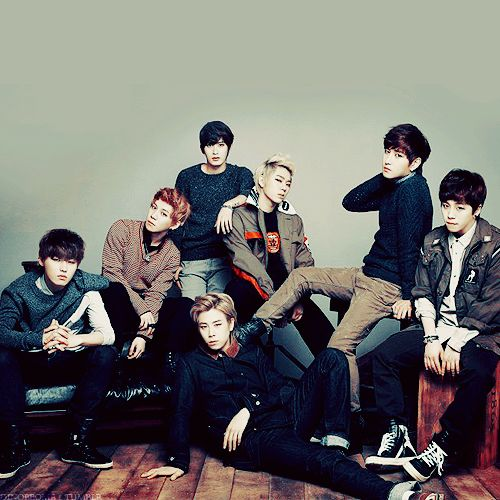 Block B - I think that's the most normal I've ever seen them lol.