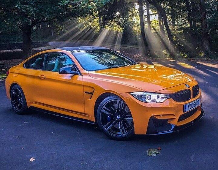 BMW M4 Orange | BMW | Pinterest | Bmw m4, BMW and Cars