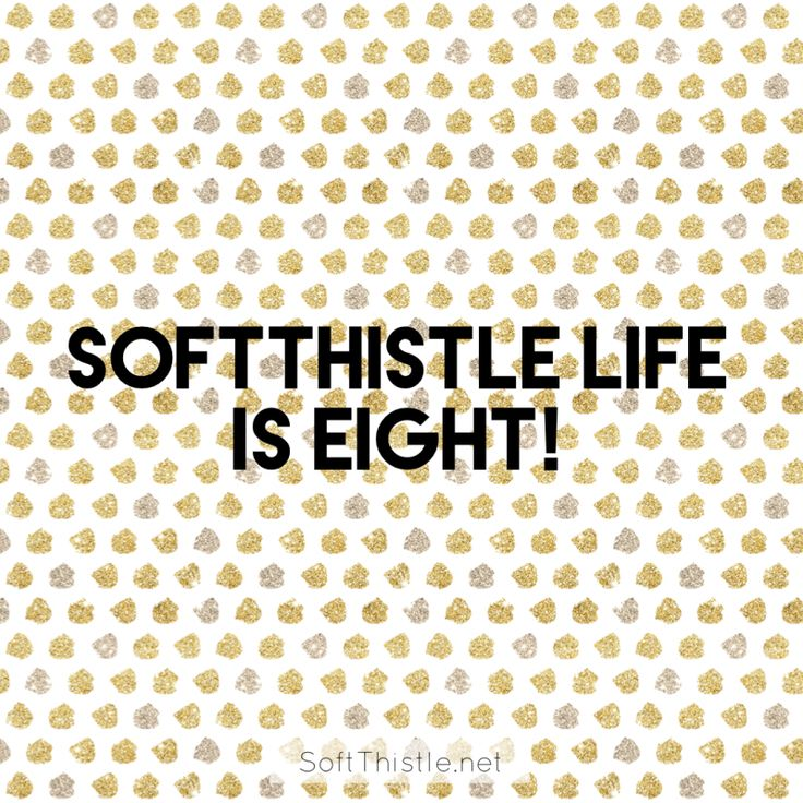 SoftThistle Life is Eight!