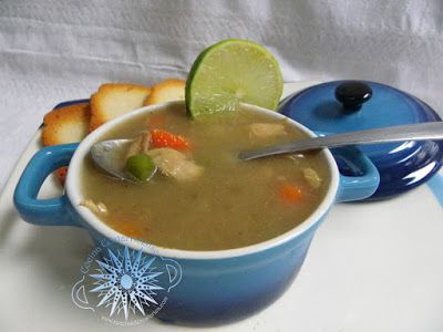 Cocina Costarricense: sopa de berenjena