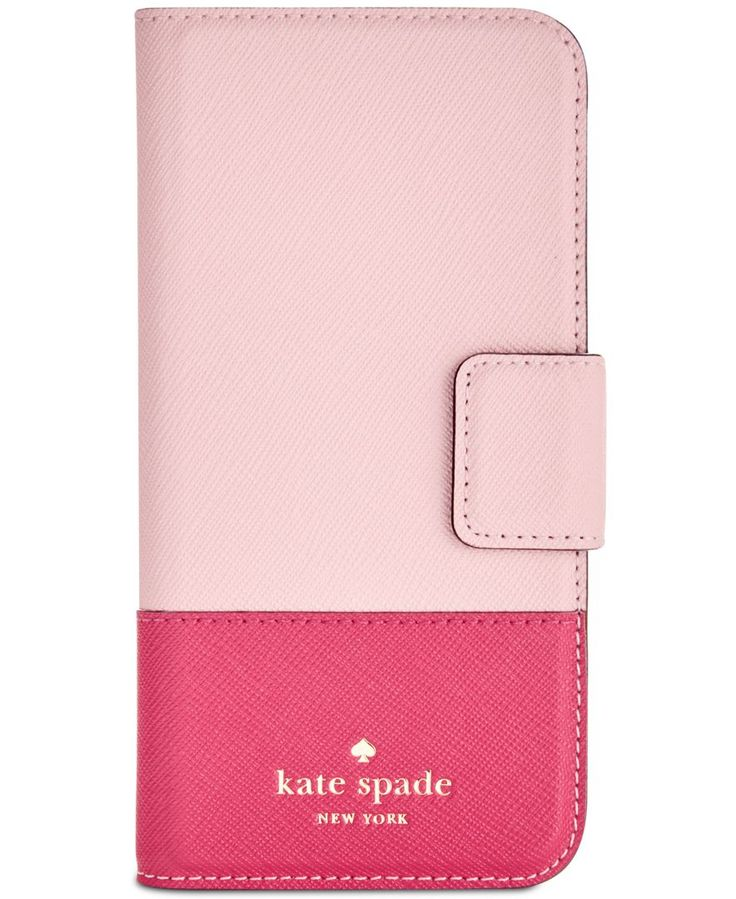 kate spade new york Leather Wrap iPhone 7 Folio Case