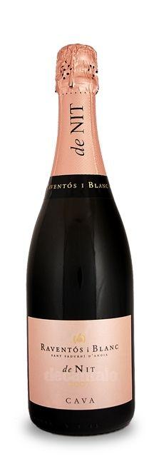 Raventós i Blanc L' Hereu de Nit Reserva Brut Rosat, Spanish Cava Wine at decantalo.com