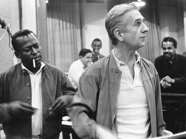 Gil Evans and Miles Davis.