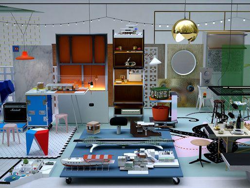"Archiving the built environment in Joakim Dahlqvist's ""Piminski"" renderings | News | Archinect"
