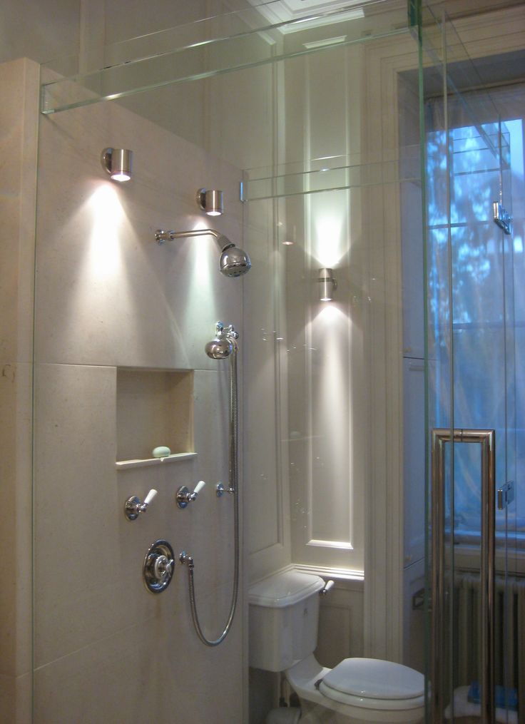 Bathroom Wall Lighting Ideas Part - 20: Impressive Wall Downlights In Bathroom Lighting - Pictures, Photos, Images