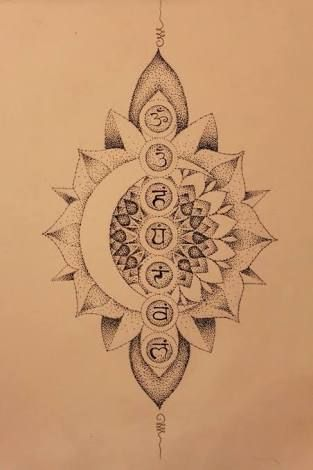 Image result for mandala chakras tattoo