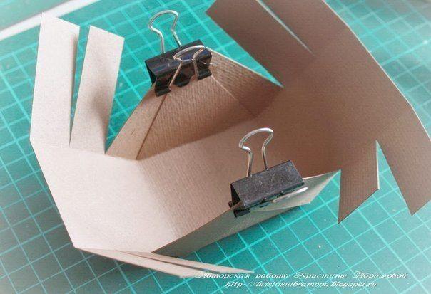 Как сделать коробочку для яиц на Пасху