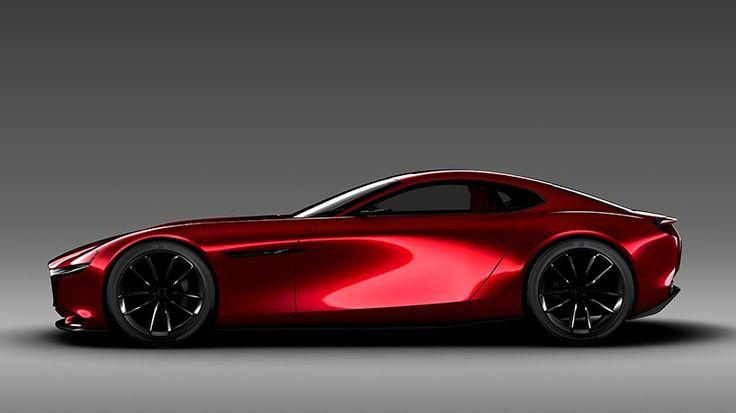 Concept de voiture de sport, le Mazda RX-VISION dévoilé lors du Salon de Tokyo est équipé d'un moteur rotatif SKYACTIV-R de nouvelle génération.