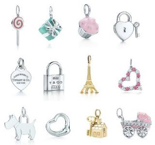 Tiffany co charms... I want them all!
