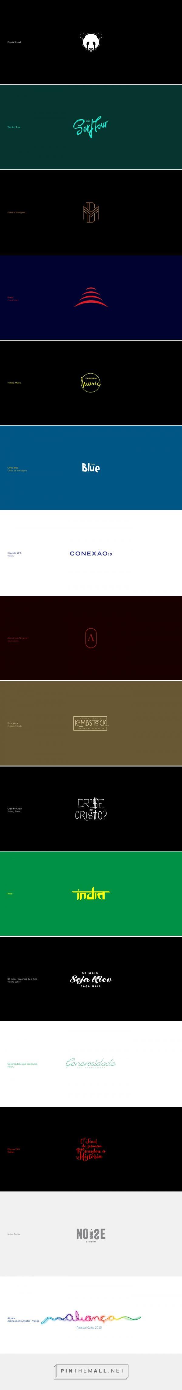 Logofolio 2015 on Behance - created via https://pinthemall.net  #panda #surf #tour #songriter #singer #dm #monogram #animal #illustration #up #red #construction #enginner #music #videira #blue #clubeblue  #conexao #conection #law #lawyer #tshirt #kombstock #crise #christ #india #noise #studio #logofolio #graphicdesign #branding #brand #logo2015 #logos #oficiallogo #levileal #designer #tipograph