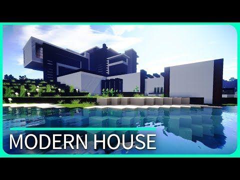 25 melhores ideias de Minecraft modern house map no Pinterest