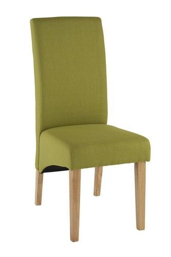Fabric, Dining Chair, green, roma
