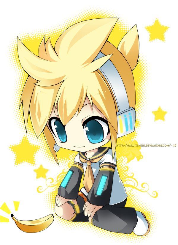 Len Kagamine Love Chibi Vocaloid