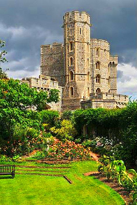 17 Best Images About Gardens Of Windsor Castle On
