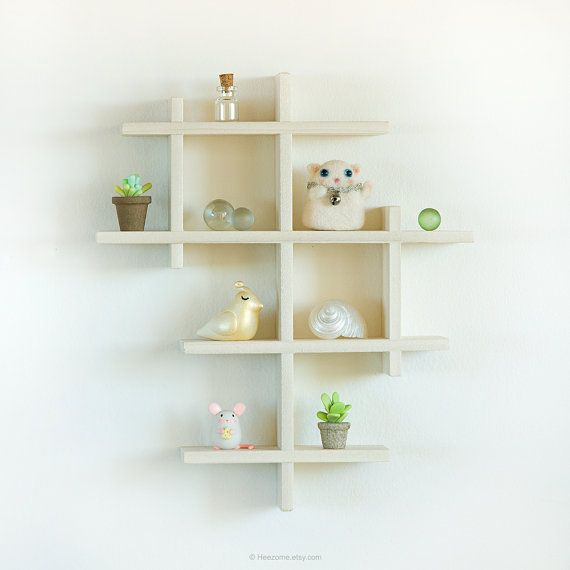 The prettiest way to display your little treasures, travel souvenirs, miniatures,...So clean and modern. This gorgeous shadow box shelf is handmade with lots of care from solid Poplar wood. It is sanded smooth and has a natural finish. You will love it in person! Its a great gift for