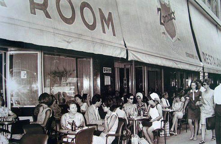 1960. Ζαχαροπλαστείο ''ΖΟΝΑΡΣ''. (Κάρολος Ζωναράς Ελληνοαμερικανός). (1940).