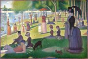 Sunday Afternoon on the Island of la Grande Jatte 1886  by Georges Seurat